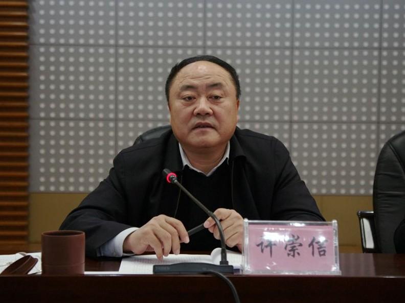 省国资委党委书记、主任许崇信同志在省国资委党的十八大精神学习培训会上动员讲话